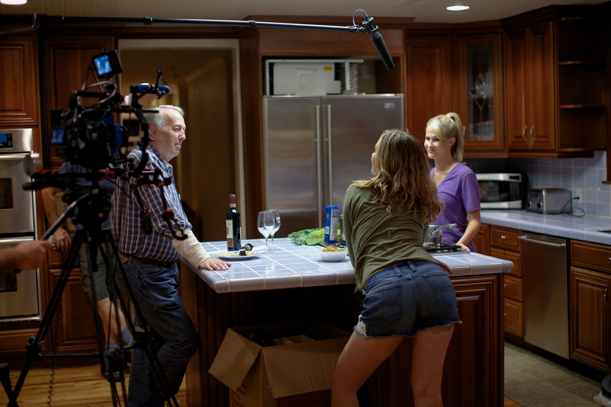 getting ready for the kitchen scene - The Kitchen House Movie