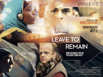 Leave To Remain Poster - Cinema size