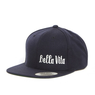BELLA VITA 6-PANEL SNAPBACK (NAVY)
