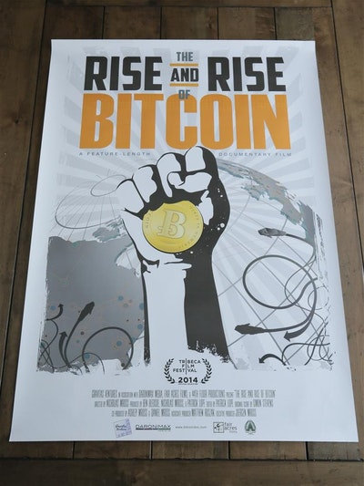 Bitcoin Full Size Movie Poster