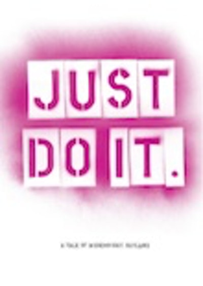 Why Not limited special edition just do it film print