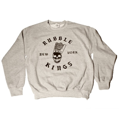 RUBBLE KINGS GREY SWEATSHIRT