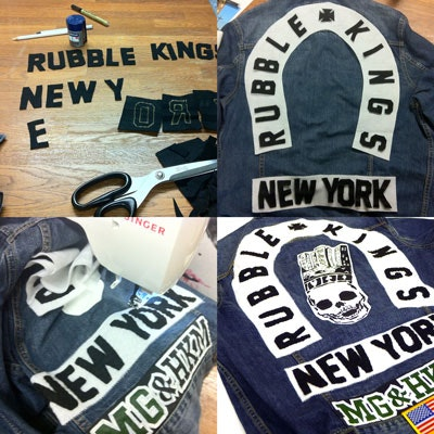 RUBBLE KINGS LIMITED EDITION DENIM JACKET