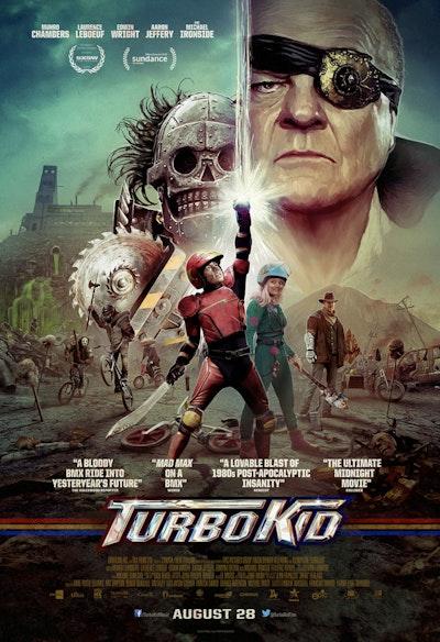 Turbo Kid - Mini Poster **Back In Stock September 8th **Pre-Order now