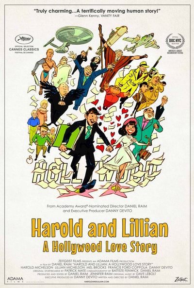 HAROLD AND LILLIAN Official Movie Poster  24x36