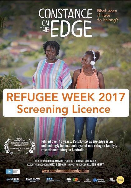 REFUGEE WEEK 2017 - Screening Licence for Individuals