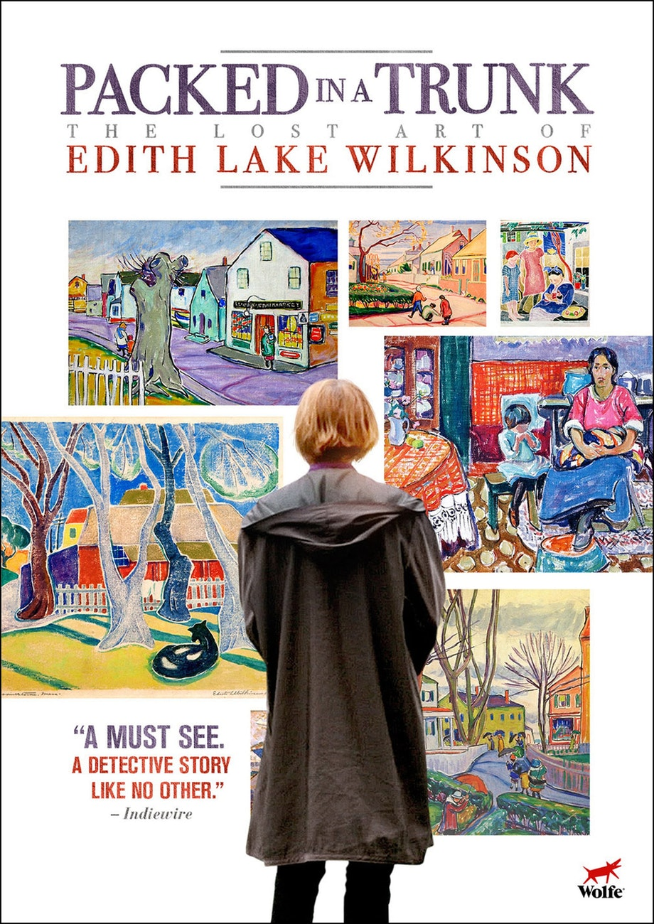 Packed in Trunk: The Lost Art of Edith Lake Wilkinson