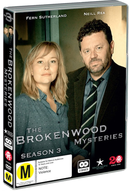 The Brokenwood Mysteries Season Three DVD
