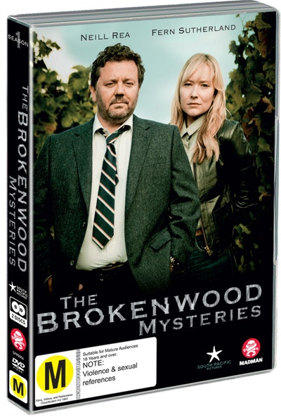 The Brokenwood Mysteries season one dvd