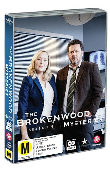 The Brokenwood Mysteries - Season 4 DVD