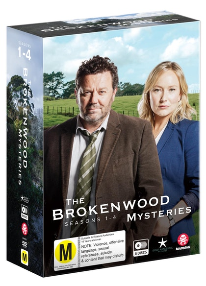 The Brokenwood Mysteries Box Set: Seasons 1-4
