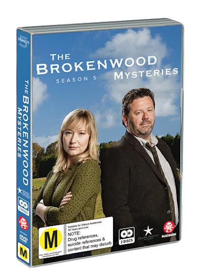 The Brokenwood Mysteries - Season 5 DVD
