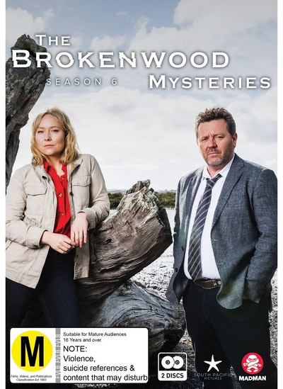 The Brokenwood Mysteries - Series 6 DVD
