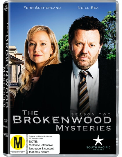 The Brokenwood Mysteries season two DVD