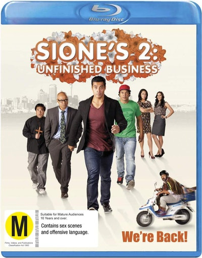 Sione's 2: Unfinished Business BluRay