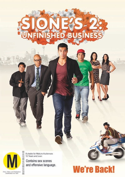 Sione's 2: Unfinished Business DVD