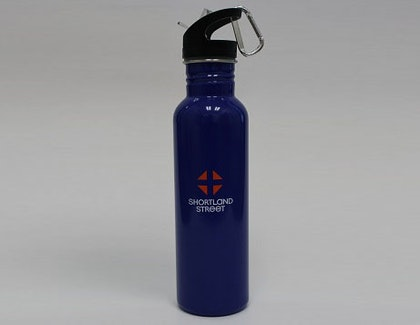 Shortland Street Stainless Steel Drink Bottle