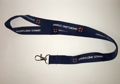 Official Shortland Street Lanyard