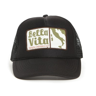 Bella Vita - Trucker Patch Hat (Black)
