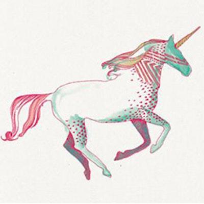 Unicorns tattoo
