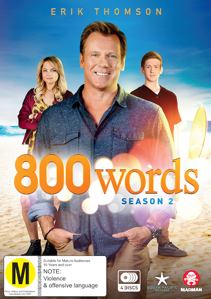 800 Words Season 2 DVD