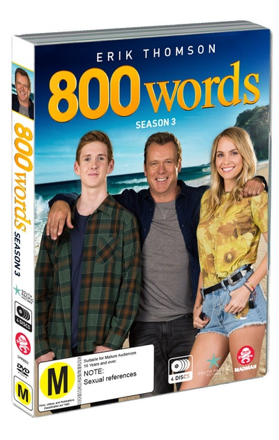 800 Words Season Three DVD