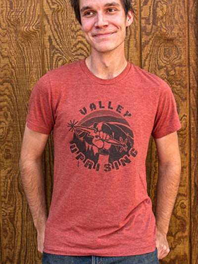 Valley Uprising Half Dome Tee (M)