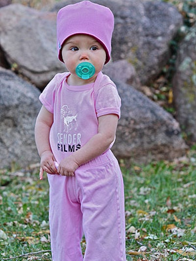 Baby Sender Onesie